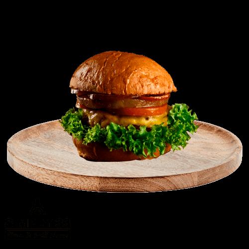 Simply 33 - Pineapple Vegetarian Burger