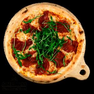 Simply 33 - Bresaola di parma pizza