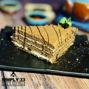 Simply 33 - Honey cake with cocoa