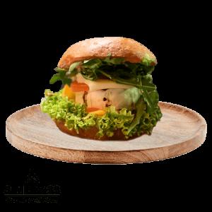 Simply 33 - Vegetarian Grilled Cheeseburger