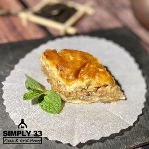 Simply 33 - Honey baklava