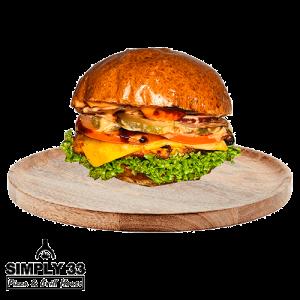 Simply 33 - Chicken Burger