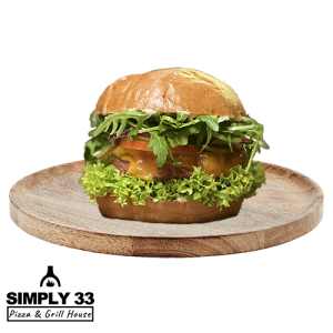 Simply 33 - Green Vegetarian Burger delivery in Prague