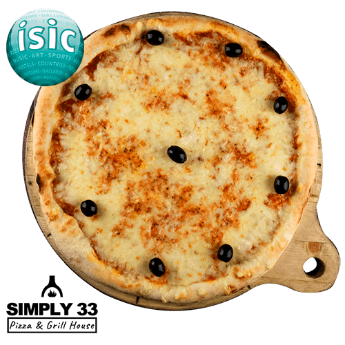 Simply 33 - Margharita pizza