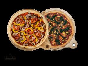 Combo Vegan Menu (Vegan Pizza, Spicy Spinach)