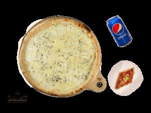 Combo Menu (Quattro Formaggi Pizza, Honey Baklava, Pepsi 0,33L)