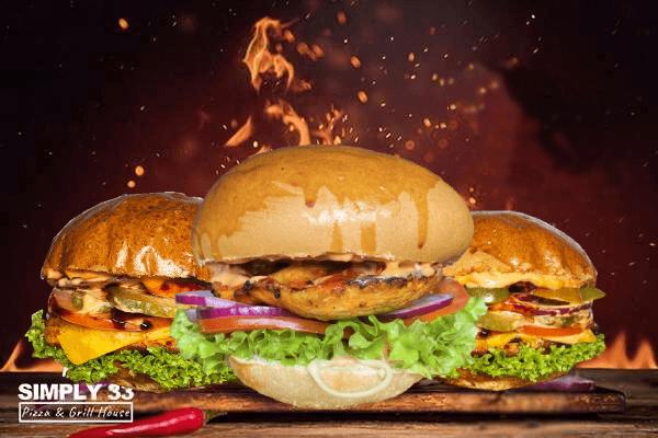 Chicken burger offer